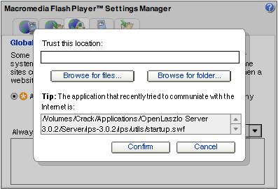 Flash 8's Backwards Security Model
